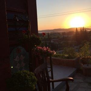 Sundown Overlooking Bargilya