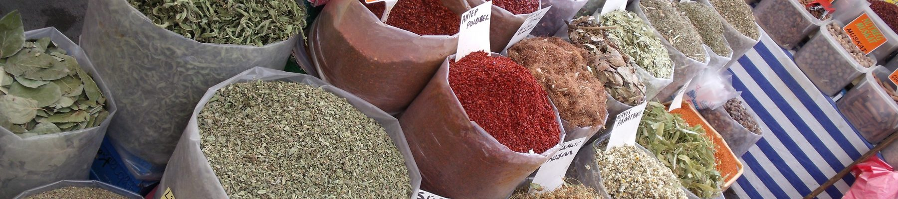 Milas Farmers Market spices