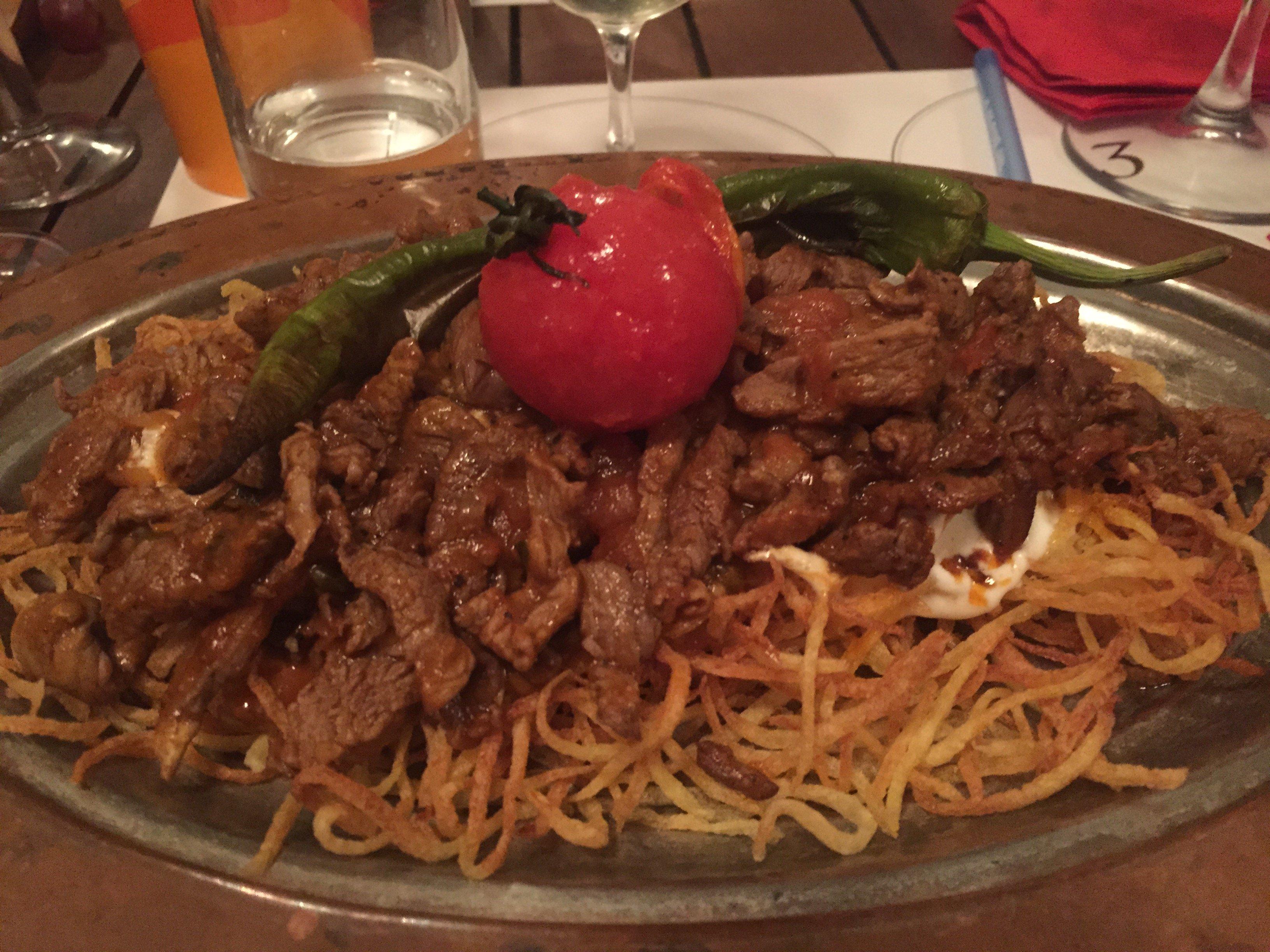 Turkish Kebab Plater